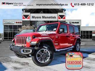 New 2020 Jeep Wrangler Unlimited Sahara  -  Android Auto - $298 B/W for sale in Ottawa, ON