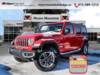 New 2020 Jeep Wrangler Unlimited Sahara  -  Android Auto - $292 B/W for sale in Ottawa, ON