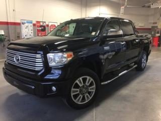 Used 2016 Toyota Tundra Platinum * BAS KILOMÉTRAGE* for sale in Richmond, QC