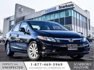 Used 2012 Honda Civic 4dr Auto EX for sale in Scarborough, ON