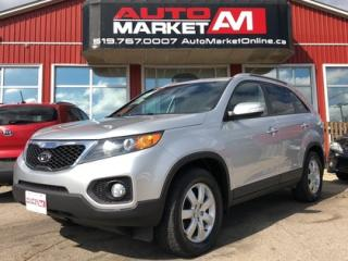 Used 2012 Kia Sorento CERTIFIED,AWD, Alloys, WE APPROVE ALL CREDIT for sale in Guelph, ON