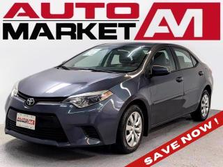 Used 2014 Toyota Corolla LE Certified!BackupCamera!WeApproveAllCredit! for sale in Guelph, ON