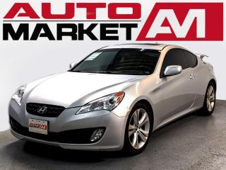 Used 2010 Hyundai Genesis Coupe CERTIFIED,2.0,Leather,WE APPROVE ALL CREDIT for sale in Guelph, ON