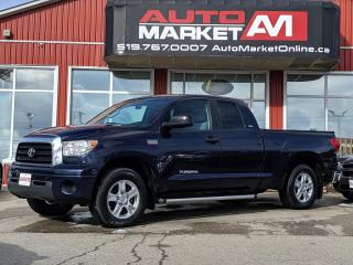 Used 2009 Toyota Tundra CERTIFIED,4x4,Alloy Wheels,WE APPROVE ALL CREDIT for sale in Guelph, ON