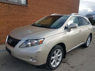 Used 2012 Lexus RX 350 navi-backup cam-leather sunroof for sale in Oakville, ON