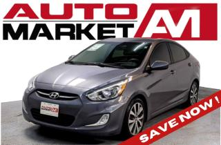 Used 2017 Hyundai Accent Certified! Sunroof! We Approve All Credit! for sale in Guelph, ON