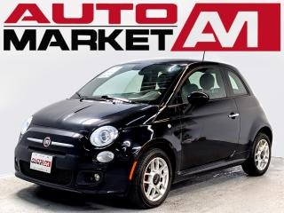 Used 2015 Fiat 500 CERTIFIED,Leather,WE APPROVE ALL CREDIT for sale in Guelph, ON