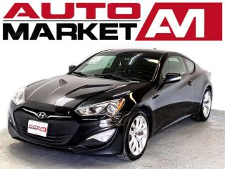 Used 2014 Hyundai Genesis Coupe CERTIFIED,Leather,2 Keys,WE APPROVE ALL CREDIT for sale in Guelph, ON