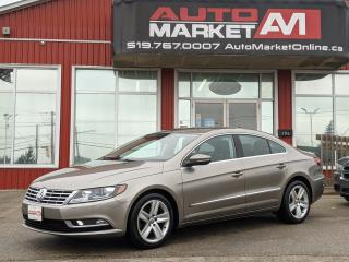 Used 2013 Volkswagen Passat CC CERTIFIED,Leather,WE APPROVE ALL CREDIT for sale in Guelph, ON