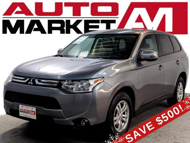 2014 Mitsubishi Outlander SE S-AWC CERTIFIED,PUSH TO START,WE APPROVE ALL CREDIT!!