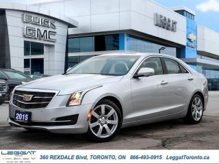 Used 2015 Cadillac ATS Sedan Luxury AWD for sale in Etobicoke, ON
