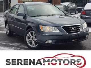 Used 2009 Hyundai Sonata GL LIMITED   LEATHER   SUNROOF   NO ACCIDENTS for sale in Mississauga, ON