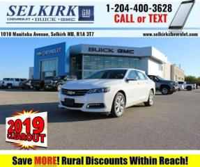 New 2019 Chevrolet Impala LT  - Leather Seats -  Keyless Entry for sale in Selkirk, MB