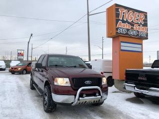 Used 2005 Ford F-150 XLT**4X4**NEW WINTERS**RUNNING BOARD**BAR**TOPPER* for sale in London, ON