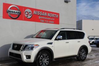 New 2020 Nissan Armada SL/AWD/LEATHER/SUNROOF for sale in Edmonton, AB