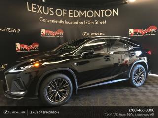 Used 2020 Lexus RX 350 DEMO UNIT - F SPORT SERIES 3 for sale in Edmonton, AB