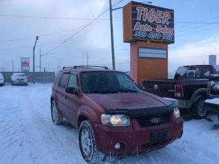 Used 2007 Ford Escape Limited**LEATHER**SUNROOF**ONLY 190KMS**4X4**AS IS for sale in London, ON