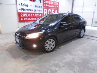 Used 2012 Ford Focus AUTO 4dr Sdn SE GAS SAVER SAFETY CERTIFIED  PW PL for sale in Oakville, ON