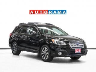 Used 2015 Subaru Outback Limited EyeSight AWD Nav Leather Sunroof Bcam for sale in Toronto, ON