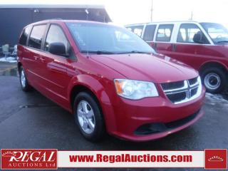 Used 2012 Dodge Grand Caravan SXT 4D Wagon FWD for sale in Calgary, AB