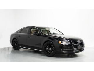 Used 2016 Audi A8 3.0T   1-OWNER   NAVIGATION   FRONTVIEW AND BACKUP for sale in Vaughan, ON
