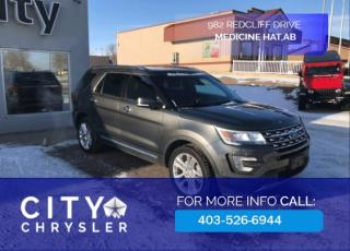 Used 2016 Ford Explorer Limited 4x4 for sale in Medicine Hat, AB