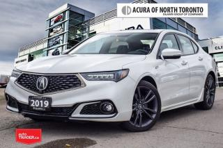 Used 2019 Acura TLX 2.4L P-AWS w/Tech Pkg A-Spec No Accident| Remote S for sale in Thornhill, ON