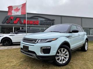Used 2017 Land Rover Evoque AWD|LEATHER|STEERING SHIFTERS|ALLOYS|BACKUP CAMERA & MORE!! for sale in Brampton, ON