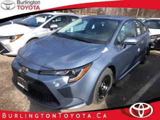 New 2020 Toyota Corolla LE CVT for sale in Burlington, ON