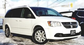 Used 2017 Dodge Grand Caravan SE | STOW & GO CERTIFIED |POWER OPTIONS | CARFAX CLEAN for sale in Mississauga, ON