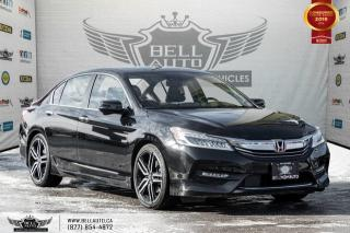 Used 2016 Honda Accord Sedan Touring, NAVI, REAR CAM, B.SPOT CAM, LEATHER for sale in Toronto, ON