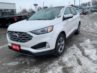 Used 2019 Ford Edge SEL AWD  - Out of province - Low Mileage for sale in Woodstock, ON