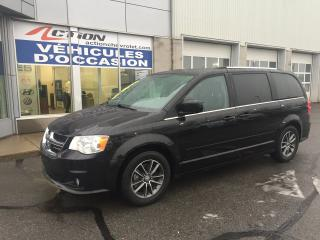 Used 2016 Dodge Grand Caravan SXT Premium Plus CUIR STOW N GO 7 PASSAGERS for sale in St-Hubert, QC