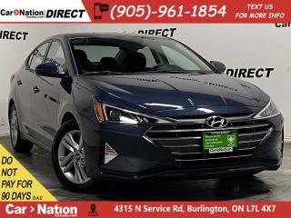 Used 2020 Hyundai Elantra Preferred  APPLE CARPLAY & ANDROID AUTO  for sale in Burlington, ON