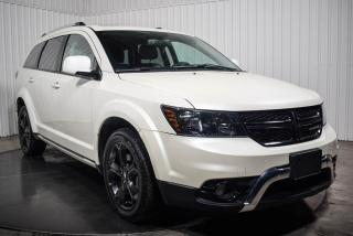 Used 2018 Dodge Journey CROSSROAD AWD CUIR TOIT NAV TV/DVD MAGS for sale in Île-Perrot, QC