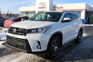 Used 2017 Toyota Highlander SE MAGS CUIR TOIT  SIEGES CHAUFFANTS for sale in St-Basile-le-Grand, QC