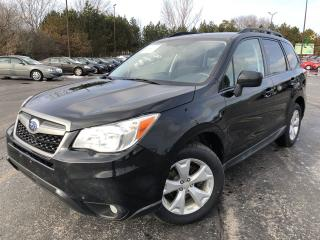 Used 2015 Subaru Forester TOURING AWD for sale in Cayuga, ON