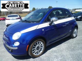 Used 2012 Fiat 500 LOUNGE Convertible for sale in East broughton, QC