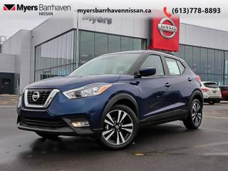 New 2019 Nissan Kicks SV FWD  -  Alloy Wheels -  Fog Lights - $162 B/W for sale in Nepean, ON
