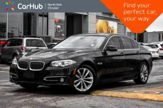 Used 2016 BMW 5 Series 528i xDrive Sunroof|Nav|BackupCam|HeatedSeats|MemoSeat|BlindSpot for sale in Thornhill, ON