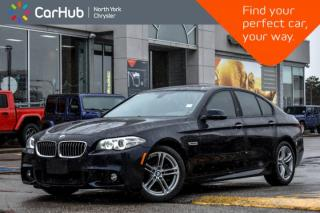 Used 2016 BMW 5 Series 528i xDrive MStyling|Nav|Sunroof|H/KSound|HeadsUpDispl|HeatedSeats for sale in Thornhill, ON