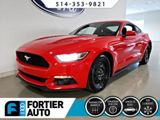 Used 2015 Ford Mustang EcoBoost modèle à toit fuyant 2 portes for sale in Montréal, QC