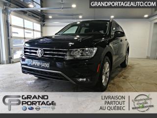 Used 2018 Volkswagen Tiguan Trendline 4MOTION *Ens. Commodité* for sale in Rivière-Du-Loup, QC