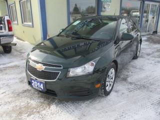 Used 2014 Chevrolet Cruze GREAT VALUE LT EDITION 5 PASSENGER 1.4L - TURBO.. TOUCH SCREEN.. POWER SUNROOF.. BACK-UP CAMERA.. BLUETOOTH SYSTEM.. for sale in Bradford, ON