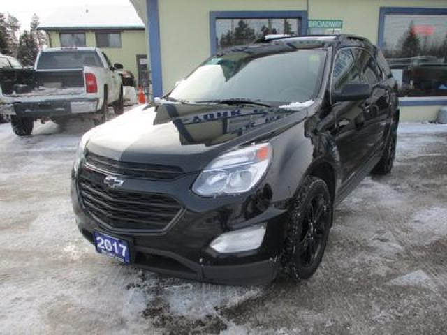 2017 Chevrolet Equinox ALL-WHEEL DRIVE LT EDITION 5 PASSENGER 2.4L - ECO-TEC.. NAVIGATION.. LEATHER.. HEATED SEATS.. SUNROOF.. BACK-UP CAMERA.. PIONEER AUDIO..