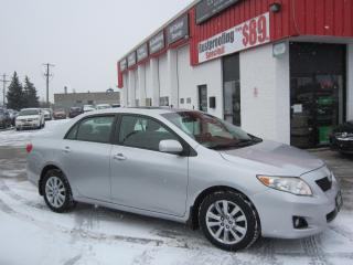 Used 2009 Toyota Corolla LE $5,995+HST+LIC FEE / CERTIFIED / SUNROOF for sale in North York, ON
