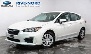 Used 2019 Subaru Impreza Convenience MAGS+CAM.RECUL+SIEGES.CHAUFFANTS for sale in Boisbriand, QC