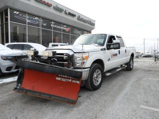 Used 2011 Ford F-250 XLT DIESEL/COMES WITH WESTERN V BLADE SNOW PLOW for sale in Concord, ON