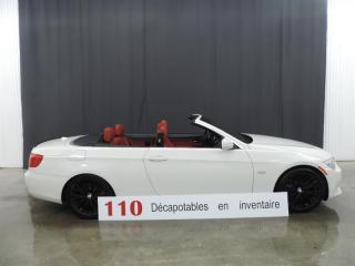 Used 2012 BMW 3 Series 335i DÉCAPOTABLE - SPORT PACKAGE - NAVIGATION for sale in St-François-Du-Lac, QC