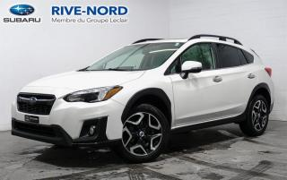 Used 2018 Subaru XV Crosstrek Limited EyeSight NAVI+CUIR+TOIT.OUVRANT for sale in Boisbriand, QC